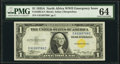 Fr. 2306 $1 1935A North Africa Silver Certificate. PMG Choice Uncirculated 64