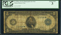 Fr. 878* $5 1914 Federal Reserve Note PCGS About Good 3