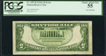 Fr. 1957-B $5 1934A Federal Reserve Note. PCGS Choice About New 55