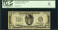 Fr. 1957-B* $5 1934A Federal Reserve Note. PCGS Fine 12