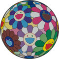 Prints & Multiples, Takashi Murakami (b. 1962). Flower Ball (Dumpling), 2013. Offset lithograph in colors on satin wove paper. 18-1/8 inches...