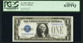 Fr. 1601 $1 1928A Silver Certificate. PCGS Choice New 63PPQ