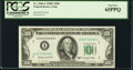 Fr. 2160-A $100 1950C Federal Reserve Note. PCGS Gem New 65PPQ