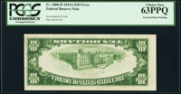 Fr. 2006-B $10 1934A Federal Reserve Note. PCGS Choice New 63PPQ