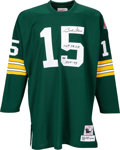 Football Collectibles:Uniforms, 2000's Bart Starr Signed Green Bay Packers Jersey....