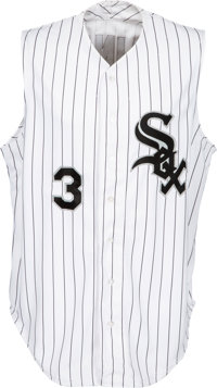 2000 Harold Baines Game Worn Chicago White Sox Jersey