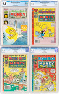 Bronze Age (1970-1979):Cartoon Character, Richie Rich Money World CGC-Graded Group of 4 (Harvey, 1974-82) CGC NM/MT 9.8.... (Total: 4 Comic Books)