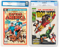 Iron Man #15/Captain America #255 CGC-Graded Group (Marvel, 1969-81).... (Total: 2)