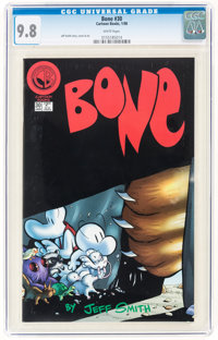 Bone #30 (Cartoon Books, 1998) CGC NM/MT 9.8 White pages