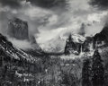 Photographs, Ansel Adams (American, 1902-1984). Clearing Winter Storm, Yosemite Valley, California, 1944. Gelatin silver, 1980. 15-1/...