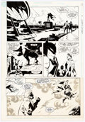 Original Comic Art:Panel Pages, Steve Rude and Karl Kesel World's Finest #3 Story Page 20 Original Art (DC, 1990). ...