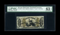 Fractional Currency:Third Issue, Fr. 1348 50c Third Issue Justice PMG Choice Uncirculated 63 EPQ....