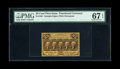 Fractional Currency:First Issue, Fr. 1281 25c First Issue PMG Superb Gem Unc 67 EPQ....