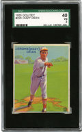 Baseball Cards:Singles (1930-1939), 1933 Goudey Dizzy Dean #223 SGC VG 40. From the classic 1933 Goudeyissue we present this stunning visual example featuring...