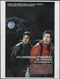 """Movie Posters:Horror, An American Werewolf in London (Universal, 1981). Poster (30"""" X 40""""). Comedy Thriller. Starring David Naughton, Jenny Agutte..."""