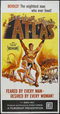 """Movie Posters:Action, Atlas (Film Group, Inc., 1961). Three Sheet (41"""" X 81""""). Adventure. Directed by Roger Corman. Starring Michael Forest, Walte..."""