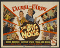 """Movie Posters:Comedy, The Big Noise (20th Century Fox, 1944). Title Lobby Card (11"""" X14""""). Comedy. Starring Stan Laurel, Oliver Hardy, Doris Merr..."""
