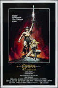 "Movie Posters:Action, Conan the Barbarian (Universal, 1982). One Sheet (27"" X 41"")Advance. Adventure. Starring Arnold Schwarzenegger, James Earl ..."