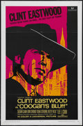 "Movie Posters:Crime, Coogan's Bluff (Universal, 1968). One Sheet (27"" X 41""). CrimeAction. Starring Clint Eastwood, Lee J. Cobb, Susan Clark, Do..."