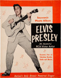 "Music Memorabilia:Posters, Elvis Presley (""Mr. Dynamite"") Early 1956 Souvenir Photo Album...."