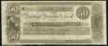 Obsoletes By State:Rhode Island, Newport, RI- New England Commercial Bank $50 18__ Remainder About Uncirculated.. ...
