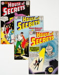 Silver Age (1956-1969):Horror, House of Secrets Group of 7 (DC, 1961-66) Condition: Avera...