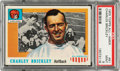 Football Cards:Singles (1950-1959), 1955 Topps Charles Brickley #61 PSA Mint 9 - None Higher....