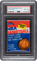 Basketball Cards:Unopened Packs/Display Boxes, 1986 Fleer Basketball Unopened Wax Pack PSA NM-MT 8. ...