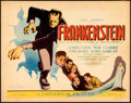 "Movie Posters:Horror, Frankenstein (Universal, 1931). Very Fine-. Title Lobby Card (11"" X 14"").. ..."