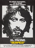 "Movie Posters:Crime, Serpico (Paramount, 1974). Folded, Very Fine. French Grande (46"" X 62""). Crime.. ..."