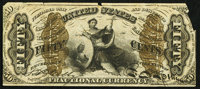 Fr. 1371 50¢ Third Issue Justice About New