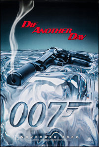 "Die Another Day (MGM, 2002). Rolled, Very Fine+. One Sheets (2) (27"" X 40"") DS, Advance & Regular Styles..."