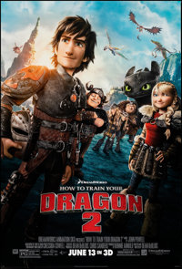 How to Train Your Dragon 2 & Other Lot (20th Century Fox, 2014). Rolled, Very Fine/Near Mint. One Sheets (2) (27&quo...