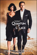 "Movie Posters:James Bond, Quantum of Solace (MGM, 2008). Rolled, Very Fine/Near Mint. One Sheet (26.75"" X 39.75"") SS, Advance. James Bond.. ..."