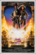 """Movie Posters:Adventure, Raiders of the Lost Ark (Paramount, R-1991). Rolled, Very Fine-. 10th Anniversary One Sheet (27"""" X 41"""") SS, Style A, Drew St..."""