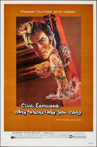 """Any Which Way You Can & Other Lot (Warner Bros., 1980). Folded, Overall: Very Fine-. One Sheets (2) (27"""" X 41&q..."""