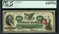 Fr. 95b $10 1863 Legal Tender PCGS Very Choice New 64PPQ