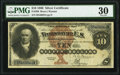 Large Size:Silver Certificates, Fr. 289 $10 1880 Silver Certificate PMG Very Fine 30.. ...
