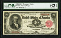 Fr. 375 $20 1891 Treasury Note PMG Uncirculated 62 EPQ