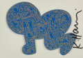 Prints & Multiples, After Keith Haring. Untitled, postcard, late 20th century. Offset lithograph in colors on postcard. ...