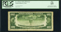 Error Notes:Inverted Reverses, Fr. 2103-E $50 1934A Federal Reserve Note. PCGS Fine 15.. ...