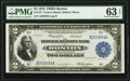 Fr. 747 $2 1918 Federal Reserve Bank Note PMG Choice Uncirculated 63 EPQ