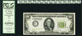 Fr. 2152-C $100 1934 Federal Reserve Note. PCGS New 62PPQ