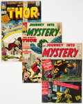 Silver Age (1956-1969):Superhero, Journey Into Mystery Group of 5 (Marvel, 1961-65)....