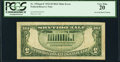Error Notes:Inverted Reverses, Fr. 1956-F $5 1934 Mule Federal Reserve Note. PCGS Very Fine 20.. ...