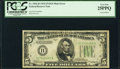 Error Notes:Inverted Reverses, Fr. 1956-H $5 1934 Mule Federal Reserve Note. PCGS Very Fine 25PPQ.. ...