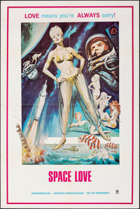 """Space Love (Assorted, 1971). Folded, Very Fine. One Sheet (28"""" X 42""""). Adult"""