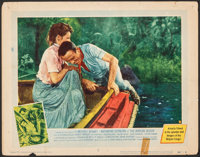 "The African Queen (United Artists, 1952). Fine+. Lobby Card (11"" X 14""). Adventure"