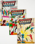 Silver Age (1956-1969):Superhero, Justice League of America Group of 9 (DC, 1962-69) Conditi...
