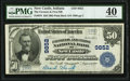 New Castle, IN - $50 1902 Plain Back Fr. 678 The Farmers & First National Bank Ch. # 9852 PMG Extremely